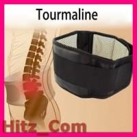 Tourmaline Alat Therapy Pinggang Magnetic Size L Black