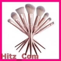 UCANBE Real Taper Brush Make Up 8 Set Golden