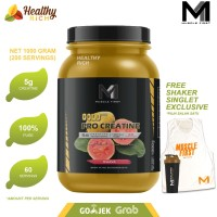 MUSCLE FIRST PRO GOLD CREATINE 1KG MURNI creakong platinum creatine - APPLE