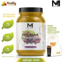 MUSCLE FIRST M1 GOLD SERIES PRO BCAA POWDER 900G - APPLE