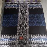 sarung mahda batik pekalongan dewasa-wajik songket biru putih v5