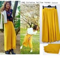 UNQ Culotte Yellowhoney Cotton