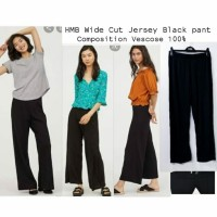 HMB Cut Jersey Black pants