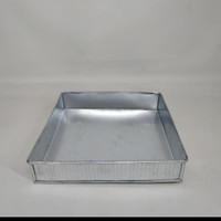 Loyang bolu lapis surabaya cake kotak Alumunium Uk. 30 tinggi 4 cm
