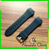 Tali jam tangan Alexandre Christie 6206 Rubber AC 6206 MF Original Oem