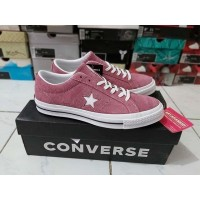 Sepatu Casual Converse Cons One Star Skate Deep Bordeaux Original