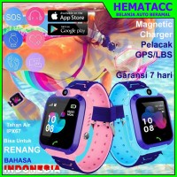 Jam Tangan Anak Aimo Q12 Anti Air IP67 Bahasa Indonesia Imo Smartwatch