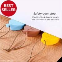Penahan Ganjal Pintu Leaf Door Stopper ganjalan daun pengaman safety