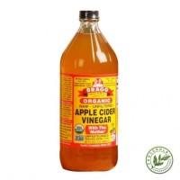 Bragg Apple Cider Vinegar ACV Cuka Apel 946 ml