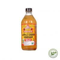 BRAGG APPLE CIDER VINEGAR (ACV) CUKA APEL 473 ML, Raw Organic Mother