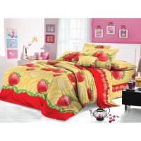 Adela - Comfort Collection - Sprei - Redberry - 120 x 200 x 20