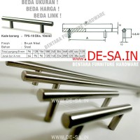 Huben TPS-10 96MM Handle Tarikan Pipa Solid Steel