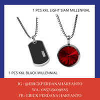 PAKET BELANJA (HEMAT) 1 KKL Black Millennial + Light Siam Millennial