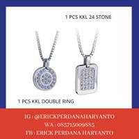 PAKET BELANJA (HEMAT) 1 KKL 24 Stone + Double Ring