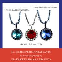 PAKET BELANJA (HEMAT) 1 KKL Blue Sapphire + Blue Zircon + Light Siam