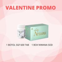 PROMO VALENTINE 1 Btl SGF @600 Tab + 1 Box Niwana