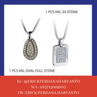 PAKET BELANJA (HEMAT) 1 KKL 24 Stone + Oval Full Stone