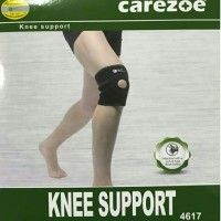 4617 Deker Lutut Warna Hitam /Knee Support Carezoe