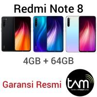 Xiaomi Redmi Note 8 TAM Garansi Resmi Note8 4/64 Xiomi 4GB 64GB