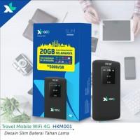 Mifi Modem Wifi 4G XL GO HKM001 Free XL GO IZI 20GB Unlocked Resmi