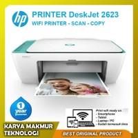 Printer Wireless HP 2623 All In One Print-Scan-Copy-Wifi Garansi Resmi