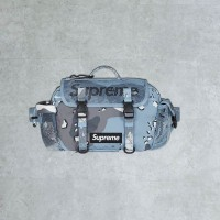 Supreme SS20 Waist Bag Blue Camo 100% Authentic