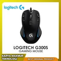 Mouse Gaming Logitech G300s Optical Gaming Mouse Garansi Resmi