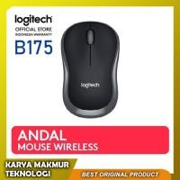 Mouse Wireless Logitech B175 | Logitech Wireless Mouse Hitam