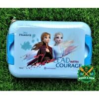 Kotak Makan Lunch Box Technoplast Seri Frozen SW 700 DFMV 2 BPA Free