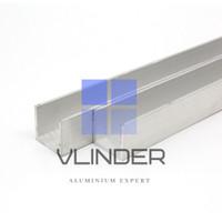 U Channel Aluminium 21 mm x 19 mm, t. 2.0 mm