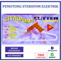 Alat Potong Cutter Pemotong Sterofoam Busa Gabus Styrofoam Elektrik