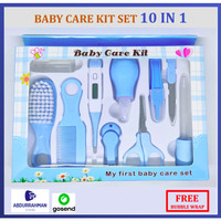 Baby Care Kit 10 in 1 Newborn Gift Set Kado Lahiran Gunting Sisir Bayi