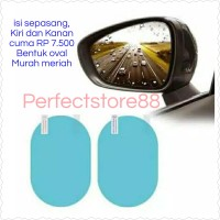 Anti Fog / Anti Embun Spion Mobil isi 2 pcs