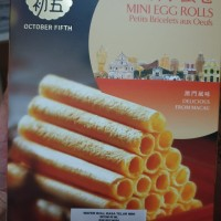 Biscuit egg roll/almond pastry/almond cake import