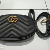 *Preloved* Gucci Marmont Matelasse Belt Bag Tas Pinggang Wanita