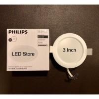 TERLARIS LAMPU DOWNLIGHT LED PHILIPS ERIDANI 3 WATT 3WATT 3 W 3W