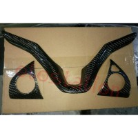 Cover panel stir karbon HRV Jazz GK5(2014-2020) Carbon Fiber Ori