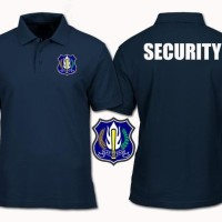 Tshirt-Polo-Baju Kerah Security Big Size Xxxl-Xxxxl
