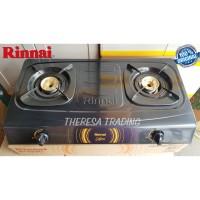 KOMPOR GAS RINNAI 2 TUNGKU RINNAI 522 C CEFLON SIMPLICITY SERIES