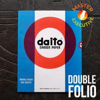 Daito JAPAN Kertas Karbon Hitam Double Folio / Black Carbon Paper