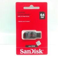Flashdisk SanDisk 64GB Cruzer Blade ORIGINAL GARANSI RESMI 5 Tahun