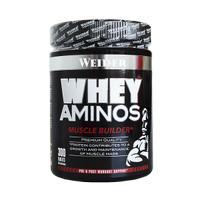 Weider Whey Aminos Tablet 300tabs Amino Bentuk Pahat Otot Muscle