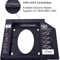 CANDY HDD harddisk caddy 9.5mm SSD sata for laptop notebook 9.5 mm