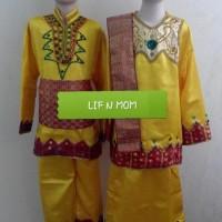 Baju adat gorontalo anak size S M L dan XL, cewe atau cowo