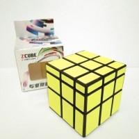 Rubik Mirror- Zcube Mirror 3x3 Yellow Original