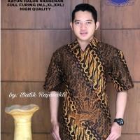 Parang Sogan Kemeja Batik Pria Lengan Pendek By Raja Sakti