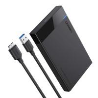 """Ugreen Casing Harddisk SSD External Enclosure 2.5"""" SATA USB 3.0"""