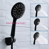 hand shower mandi/shower black doff