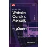 Buku Membuat Website Cantik & Menarik dengan JQuery (Web)