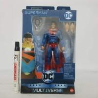 mainan action figure superman kingdome come dc multiverse without cnc